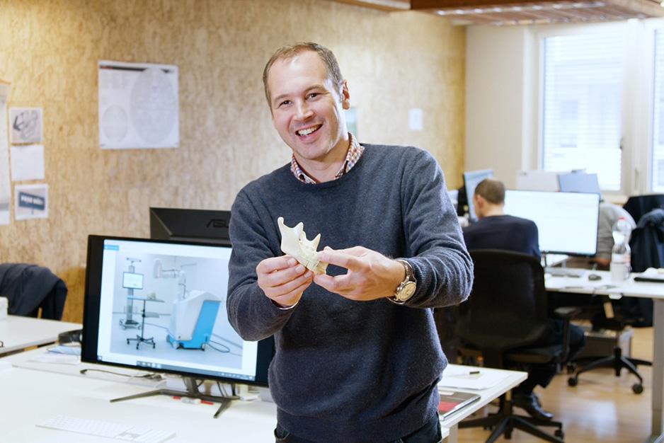 Advanced Osteotomy Tools CEO Cyrill Bätscher