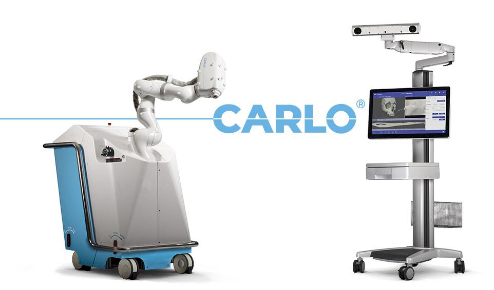Advanced Osteotomy Tools' surgical robot platform CARLO